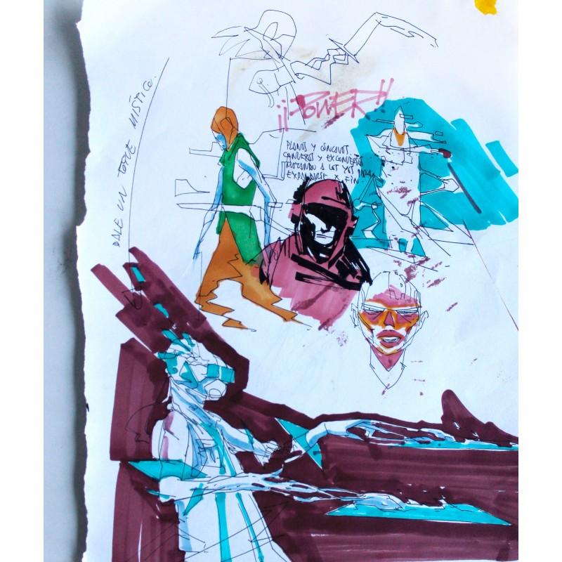Deih - Sketch n. 7 -  unique