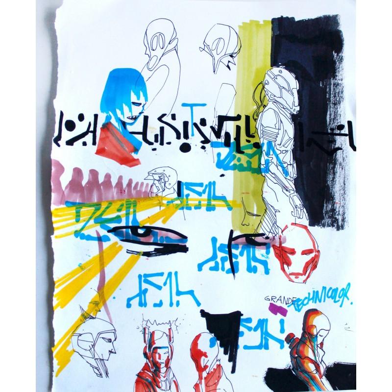 Deih - Sketch n. 4 -  unique