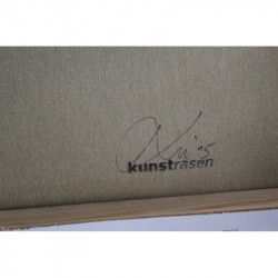 Kunstrasen - It's a thin red line between vandalism and art - Canvas artist prof