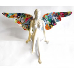 MARTIN WHATSON - Hardcore Angel - Sculpture on brass
