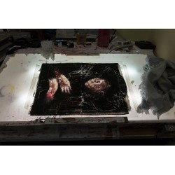 Borondo - plexiglass - limited and framed