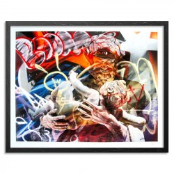 PICHIAVO - Baco La Nascita - giclee fine art edition -limited to 22