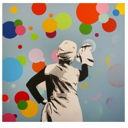 kunstrasen - Bubble Removers - Canvas - 1/1 g70x70cm