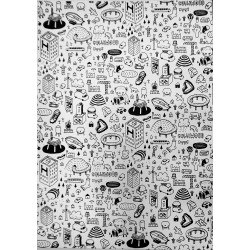 MILLO -LIMITED  screen print