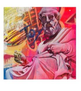 PICHIAVO - Plato - canvas