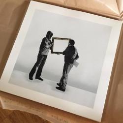 kunstrasen- screenprint hand finish- edition of 10 - ARTE