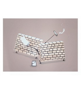 Escif - Another Wall - Limited
