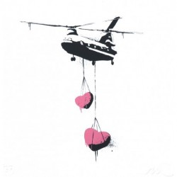 Martin Whatson - Chinook Hearts' Fine Art print - 24/100