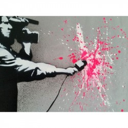 "MARTIN WHATSON - Canvas-   ""Urban Expressionism"""