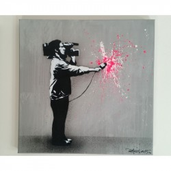 Martin Whatson 'original' artist proof edition 2 of 2 'Urban Expressionism'