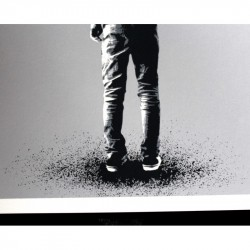 Martin Whatson - Kingdom for a Crow - screenprint hand finish