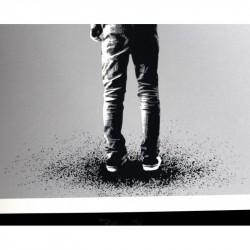 Martin Whatson - Kingdom for a Crow - screenprint hand finish