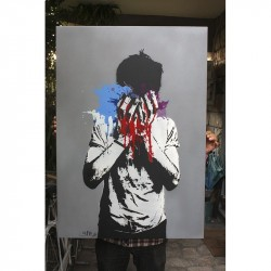 Nafir - original canvas - Tear Gas