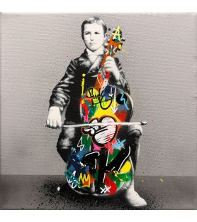 Martin Whatson - Cello- canvas