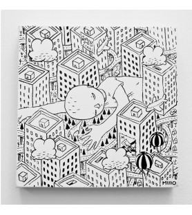 MILLO - Untitled  - canvas
