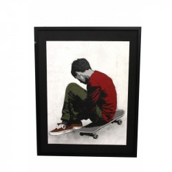 Alias - SAD SKATER - Original Canvas with frame