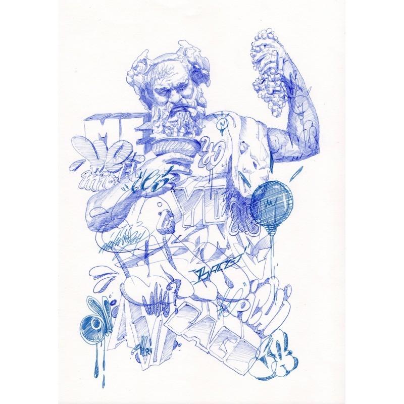 PICHIAVO - original - sketch 19