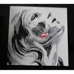 Sandra Chevrier - La Cage et le Battement de Coeur 2014 - limited screen print