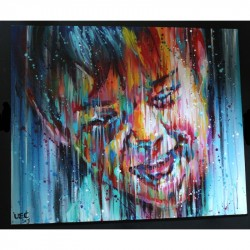 Sema Lao - Child - original on canvas board