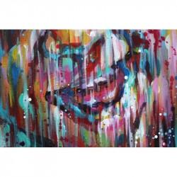 Sema Lao - Child - original on canvas board
