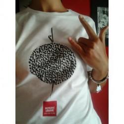 T-Shirt White Memorie Urbane by Domenico Romeo