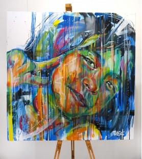 Sema Lao - Peace - canvas 2