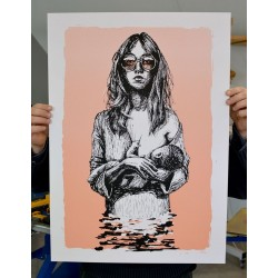 ApoloTorres - Screen Print - 2 colors limited 30 pieces