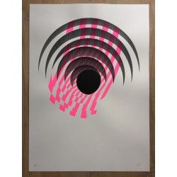 Pink by 1010 - screenprint number 8 of 18