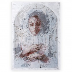 Borondo - plexiglass - limited and framed