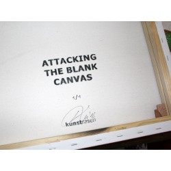 Kunstrasen - Attacking Blank Canvas -