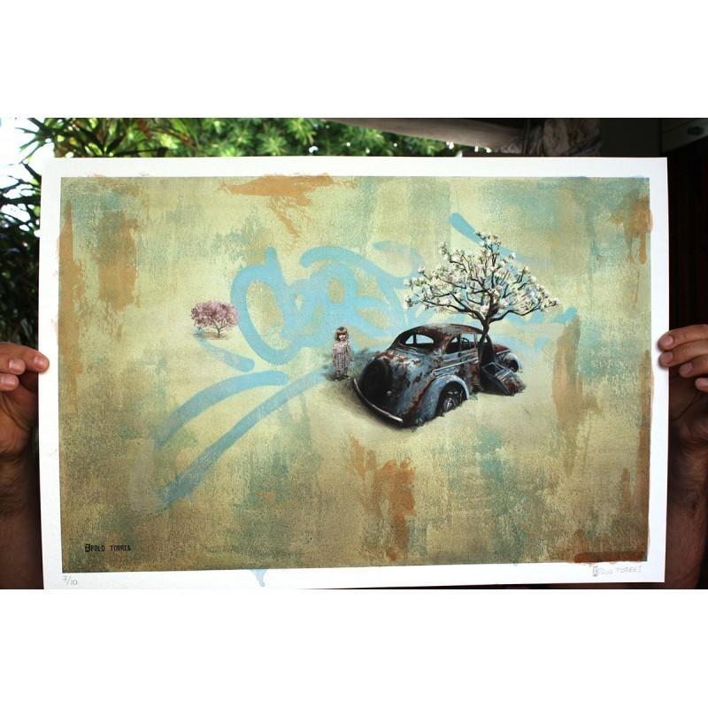 Apolo Torres - Fiorire/Fluorescer - Fine Art Giclèe Print