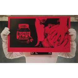 MTO - Nutella - Limited edition screen  print