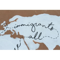FRZ - Canvas - We are all immigrants and refugee