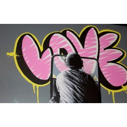 Martin Whatson - Love Riot - limited of 35 pieces