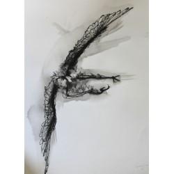 David Oliveira - Gufo - Original -limited giclèe hand finish by the artist